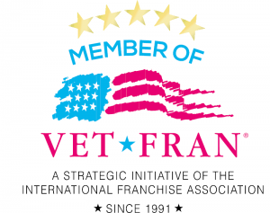 Member of Vet Fran -- a strategic initiative of international franchise association -- since 1991